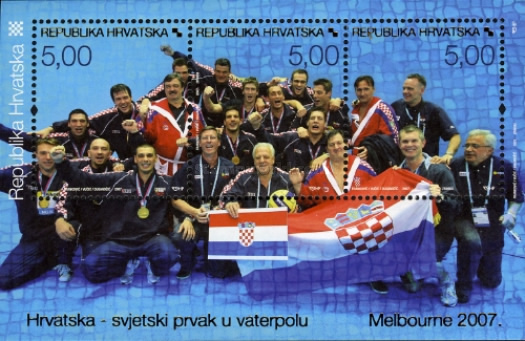 [Croatia - World Champion in Water Polo - Melbourne 2007, type ]
