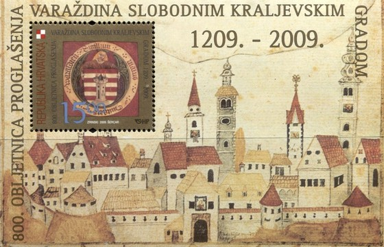 [The 800th Anniversary of Proclaiming Varazdin a Free Royal Borough, type ]