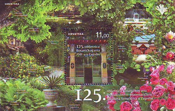 [The 125th Anniversary of the Botanical Garden of the Faculty of Science, University of Zagreb, type ]
