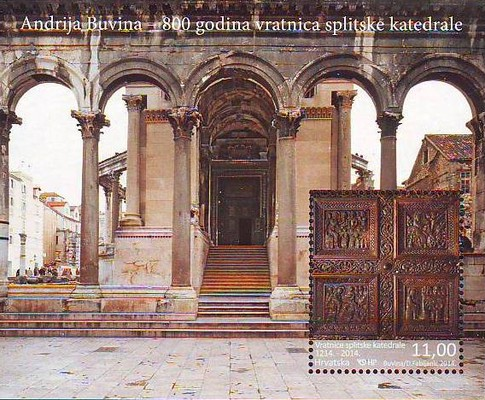 [The 800th Anniversary of the Portal of Split Cathedral, type ]
