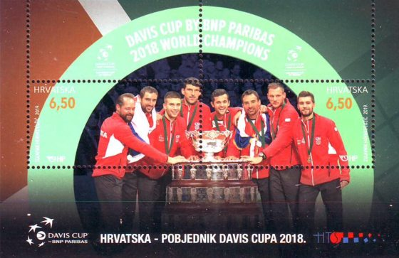 [Tennis - Croatia, Davis Cup 2018 Winners, type ]