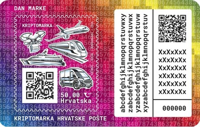 [Day of the Stamp - Croatian Post Crypto, Typ ]