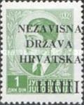 [Yugoslavia Postage Stamps Overprinted in Black - King Peter II, type A1]