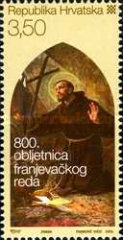 [The 800th Anniversary of Franciscan Order, type AEV]