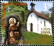 [The 800th Anniversary of St Martin's Hermit Chapel in Podsused, type AEY]