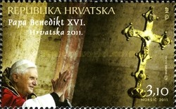 [Visit of the Pope Benedict XVI to Croatia, type AHL]