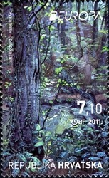 [EUROPA Stamps - The Forest, type AHT]