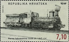 [Locomotives - The 150th Anniversary of the Arrival of the First Train to Zagreb, type AJX]