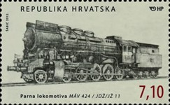 [Locomotives - The 150th Anniversary of the Arrival of the First Train to Zagreb, type AJY]