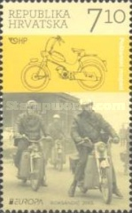 [EUROPA Stamps - Postal Vehicles, type AKZ]