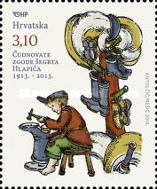 [Lapitch the Little Shoemaker - The 75th Anniversary of the Death of Ivana Brlić Mažuranić, 1874 - 1938, type ALK]