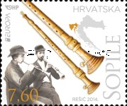[EUROPA Stamps - Musical Instruments, type AMV]