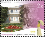 [The 170th Anniversary of Tourism in Opatija, type AMZ]