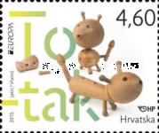 [EUROPA Stamps - Old Toys, type AOR]