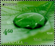 [EUROPA Stamps - Think Green, type AQL]