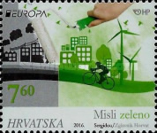 [EUROPA Stamps - Think Green, type AQM]