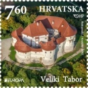 [EUROPA Stamps -  Palaces and Castles, type ASH]