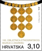 [The 100th Anniversary of the Ethnographic Museum, Zagreb, type AVA]