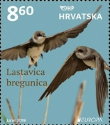 [EUROPA Stamps - National Birds, type AWA]