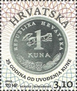[The 25th Anniversary of the Introduction og the Kuna, Typ AWF]