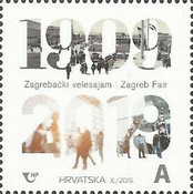 [The 100th Anniversary of the Zagreb Fair, type AWS]