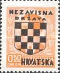 [Yugoslavia Postage Stamps Overprinted in Black - King Peter II, type B1]