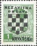 [Yugoslavia Postage Stamps Overprinted in Black - King Peter II, type B2]