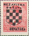 [Yugoslavia Postage Stamps Overprinted in Black - King Peter II, type B3]