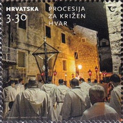 [Following the Cross Procession on the Island of Hvar, type BBJ]
