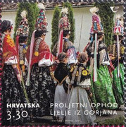 [Annual Spring Procession of Queens - Ljelje from Gorjani, type BBM]