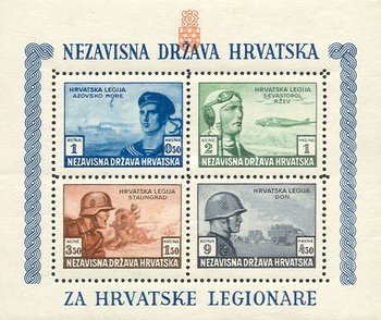 [Charity for the Croatian Legion - Different Colors, type BF1]