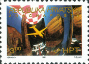 [Zagreb-Pula Airmail Route, type CO]