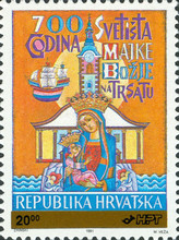 [The 700th Anniversary of the Sanctuary of the Holy Virgin of Trsat, type CS]