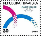 [Olympic Winter Games - Albertville, type CV]