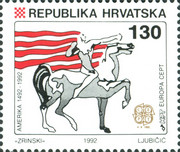 [EUROPA Stamps - The 500th Anniversary of the Discovery of America, type DT]