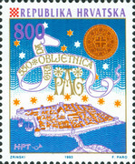 [The 500th Anniversary of the Foundation of Pag, type ES]
