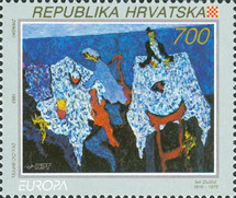 [EUROPA Stamps - Contemporary Art, type EV]