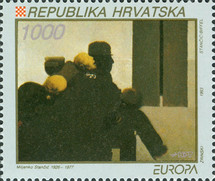 [EUROPA Stamps - Contemporary Art, type EW]