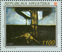[EUROPA Stamps - Contemporary Art, type EX]