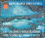 [The 100th Anniversary of the Museum of Croatian Archaeological Monuments - Split, type FM]