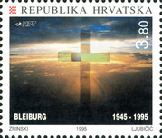 [The 150th Anniversary of the Victims of Jult 1845 and the 50th Anniversary of the Victims of the Bleiburg Tragedy, type HZ]