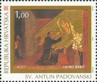 [The 800th Anniversary of the Birth of Anthony of Padua, 1195-1231, type IE]