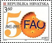 [The 50th Anniversary of the United Nations, type IY]
