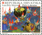 [EUROPA Stamps - Tales and Legends, type LL]