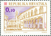 [Croatian Cities - Dubrovnik, type MT]