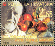 [The 100th Anniversary of the Birth of Ante Topic Mimara, 1898-1987, type NA]