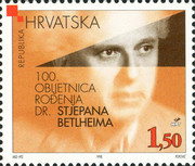 [The 100th Anniversary of the Birth of Stjepan Betlheim, type NP]