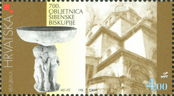 [The 700th Anniversary of the Sibenik Bishopric, type OE]