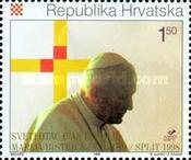 [Pope John Paul II in Croatia, type OF]