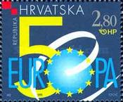 [The 50th Anniversary of the Council of Europe, type OZ]